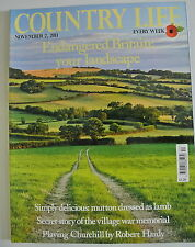 Country Life Magazine. November 2, 2011. Endangered Britain: your landscape.