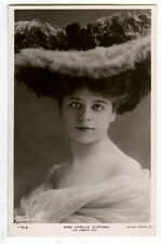 c 1901 British Victorian Edwardian Theater CAMILLE CLIFFORD photo postcard