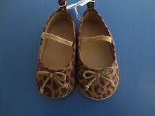 NEW Girl Infant Toddler *6-12* or *12-18* months OLD NAVY Leopard Ballet Shoes