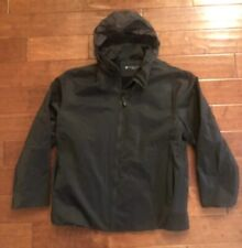 Kenneth Cole Reaction Rain Jacket Coat Medium Lined XXL 2XL Black