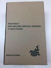 Hot Toys MMS 166 Iron Man 2 War Machine (Special Version) Figure SEAL