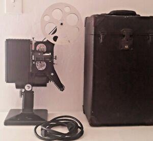 Kodascope Model G initial serie 16MM Movie Projector Kodak Case reel power cord