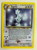 TOGETIC 16/111 - Neo Genesis Holo - Vintage WotC Pokemon Card - NM