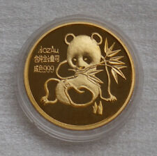China Panda 1992 1/2oz (1/2 Unze) Gold. Echte Münze. Echtes Gold. Coin Show. RRR