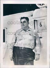 1937 Mark Hart Trucking 1930s Orange California Press Photo