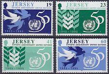 JERSEY 1995 50th anniversario delle Nazioni Unite serie UM SG723-6 CAT £ 3.50