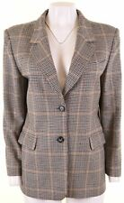 MAX MARA Womens Blazer Jacket UK 12 Medium Multicoloured  NB15