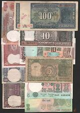 old  notes  100 + 10 +10 + 4 deer + 5 + 5  + 2 + 2 + 1 + 1  TEN  notes  set