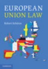EUROPEAN UNION LAW [9781107416536] - ROBERT SCHUTZE (PAPERBACK) NEW