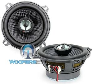 "FOCAL 130CA1SG  5.25"" CAR AUDIO 2-WAY ALUMINUM DOME TWEETERS COAXIAL SPEAKERS"