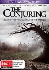 THE CONJURING-Region 4-New AND Sealed-DVD+Ultraviolet