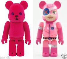 Bearbrick S27 Cute 27 be@rbrick 100% Flocky Pink Pet Set w/ secret NuigurumaZ 2p