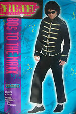 """Pop King Jacket 80's to the Max Fancy Dress Jacko Jackson fits up to 40"""" chest"""