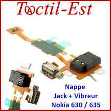 Pour Nokia Lumia 630  et 635 Nappe Prise Jack, Vibreur, Ecouteur Audio Casque