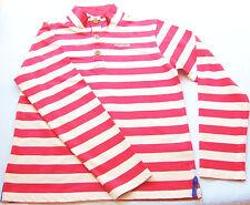 LA Shirt Gr.176 Regatta NEU 100% Baumwolle creme rot gestr sweat kinder