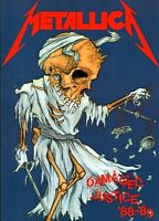 METALLICA 1988 DAMAGED JUSTICE WORLD TOUR CONCERT PROGRAM BOOK BOOKLET NM 2 MINT