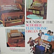 Sounds Schober Electronic Organ 1966 LP Record SOC 7 VG+ 33 1/2 RPM Classical