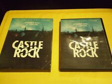 Castle Rock: The Complete First Season  (3 DVD Set, 2018)  w/Slipcover  Horror
