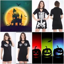 Halloween All Seasons Short Sleeve Dresses for Women