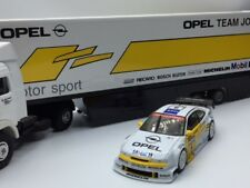 Opal Calibra and Team Truck DTM 1/43 ~ joest german dekra recaro