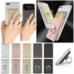 Card Ring and Holder for Smart Phone and Device /Finger Ring/ Samsung LG iPhone