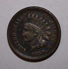 1859 Indian Head Cent MC9