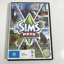 THE SIMS 3 - PETS -  GAME EXPANSION PACK - PC & MAC - FREE POST GENUINE