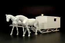 Hauler Models 1/35 German HS-3/1 KRANKENSCHLITTENS Horse-Drawn Ambulance