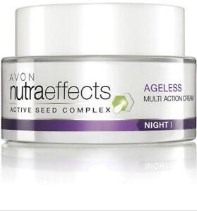 Avon NutraEffects Ageless Multi Action Night Cream Sensitive Skin