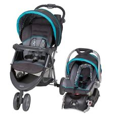 TRAVEL SYSTEM with STROLLER PRAM and CAR SEAT w/BASE BOYS Infant Baby Toddler