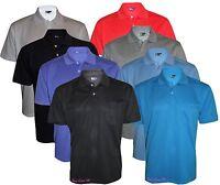 Men's T-Shirts Loose Fit PK Polo Plain With Pocket Polycotton Size S to 6XL