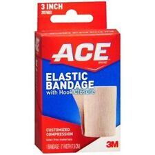 Ace Elastic Bandage With Hook and loop Closure 3 Inch