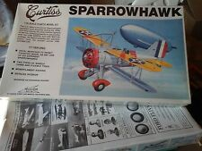 N.2 KIT  CURTISS SPARROWHAWK+CAUDRON RACE 1/32 SCALE  WILLIAMS BROS MODEL