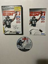 ESPN NFL 2K5 (Playstation 2, 2004) PS2 Game COMPLETE w/ Manual