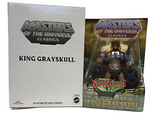 Masters Of The Universe Classics: King Grayskull With Mailer By Mattel MOTUC