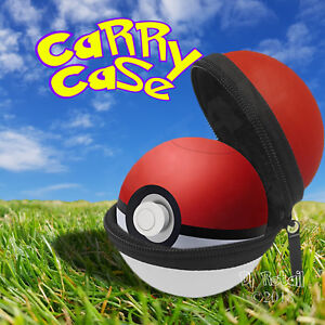 Protective Carry Case Compatible with Nintendo Switch Pokemon Let's go Pokeball