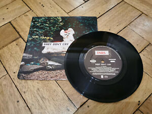 """inxs baby dont cry 7"""" vinyl record very good condition"""