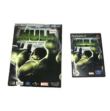 Hulk Sony PlayStation 2 PS2 Video Game & Strategy Guide Complete With Manual