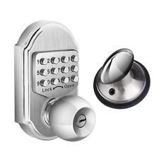 Keyless Mechanical Door Lock Combination Digital Code Higher Security Deadbolt