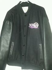 1997 XENA WARRIOR PRINCESS LETTERMAN JACKET SIZE LARGE MCA TV. CALIFORNIA MADE