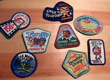 Girl Scout Fun Badge Patch~Lot 20170805L~Cookies Super Goal Achiever Patches
