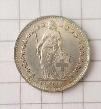 1/2 Fr. 1953 • Silber • Helvetia • Schweiz • 1/2 Franc • Münze / Coin