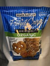 Pretzel Crisps Original Organic Snack Factory Crackers 28oz Costco Free Shipping