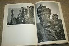 alter Bildband Sächsische Schweiz, Elbsandsteingebirge, Elbe, Klettern, DDR 1958