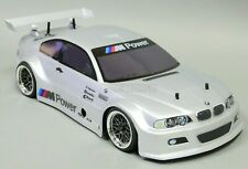 1/10 RC Nitro Car 4wd Gas BMW M3 On-Road Car 2 Speed w/ Stagger Wheels *NEW* RTR