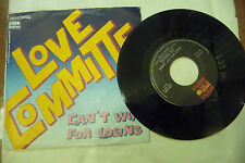 "LOVE COMMITTE""CAN'T WIN FOR LOSING-disco 45 giri ARIOLA Italy 1976"" DISCO 70'"