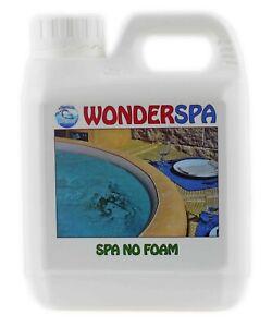 WonderSpa No Foam Anti-Foamer for Hot Tubs Spas Jacuzzis Whirlpools 1L