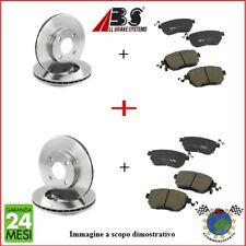 Kit Dischi e Pastiglie freno Ant e Post Abs ALFA ROMEO 156 147 #p