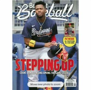 New June 2021 Beckett Baseball Card Price Guide Magazine With Ronald Acuna Jr.