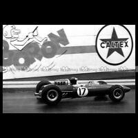 #pha.020685 Photo LOTUS 33 JIM CLARK GRAND PRIX F1 SPA FRANCORCHAMPS 1965 Auto